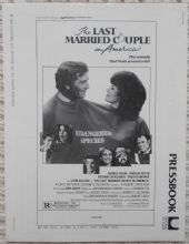 Last Married Couple in America, Original Pressbook, George Segal Natalie Wood 80